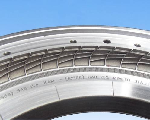bicycle tyre mould
