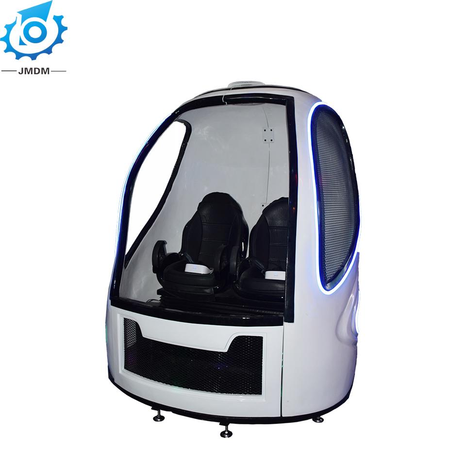 Amusement park rides VR luxury capsule simulator vr roller coaster