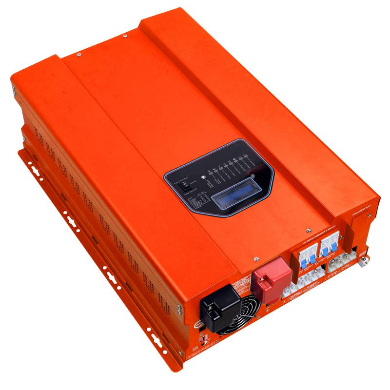 Off Grid 2000W 12V 24V 48V DC 110V 220V AC Low Frequency Inverter Kit with IN-Bulit AC Smart Charger