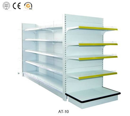 Supermarket gondola shelving,cheap price,high quality,AT-10