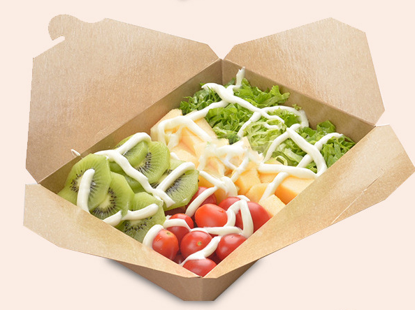Disposable Insulated Paper Chinese Hot Food Box
