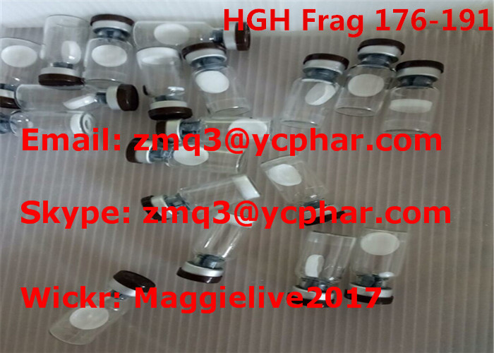 No Side Effect Liquid Phase Peptide Synthesis HGH Frag 176-191 Hormone