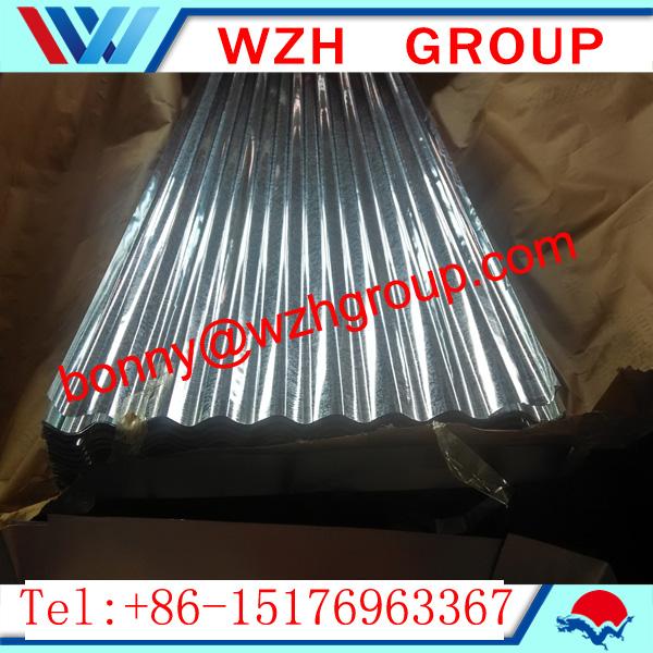Glavanized corrugate steel sheet