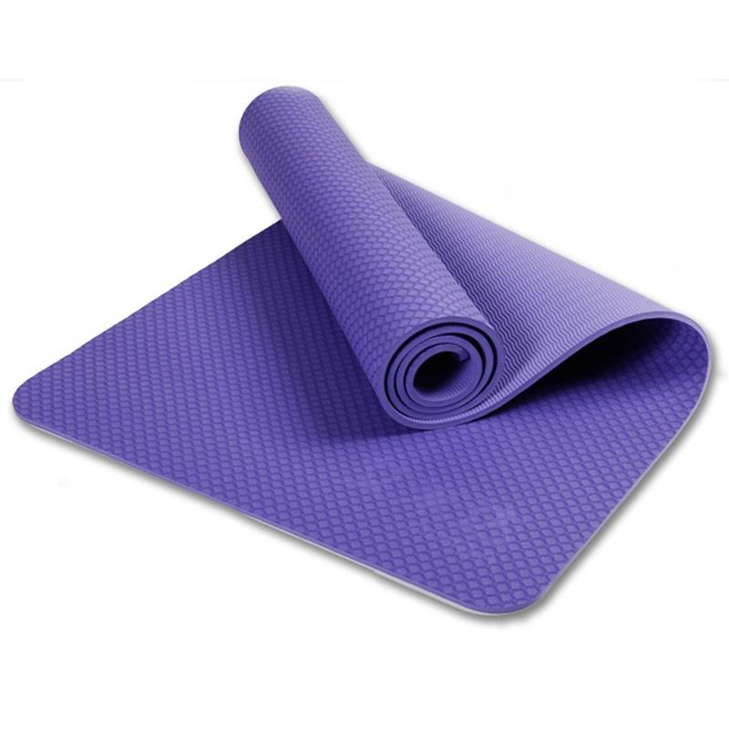 Health and Fitness 1/2-InchExtra Thick 71-Inch Long TPE Comfort PRINTED Yoga Mat for Exercise, Yoga,