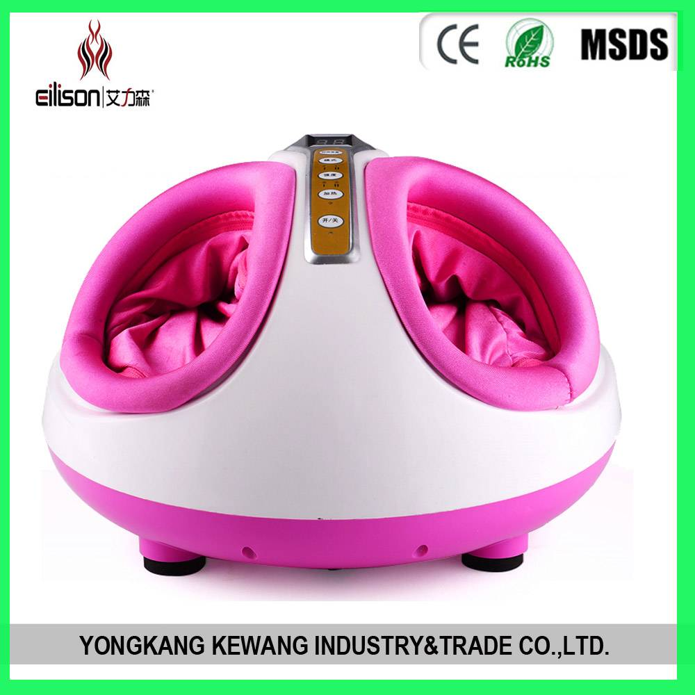 Air bag foot massager with Kneading