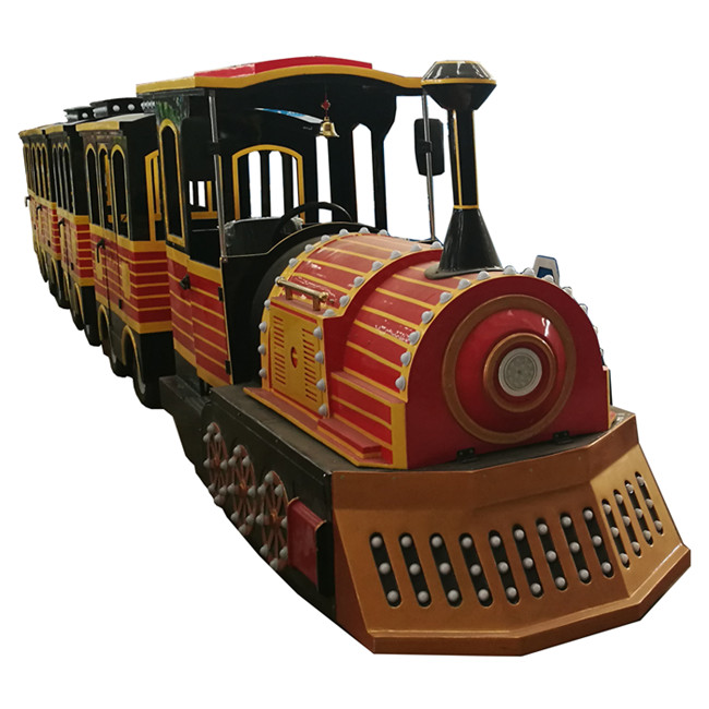 Park mall electric trackless train ride