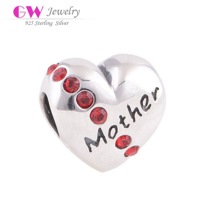 Wholesale Factory Direct Sale Sterling Silver Charm Bracelet For Mother's Day