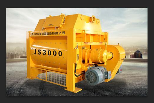 Js3000 Twin Shaft Concrete Mixer