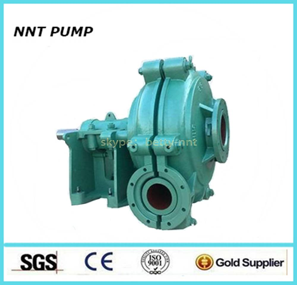 Electric Power High Pressure Mining and grinding Usage slurry pump