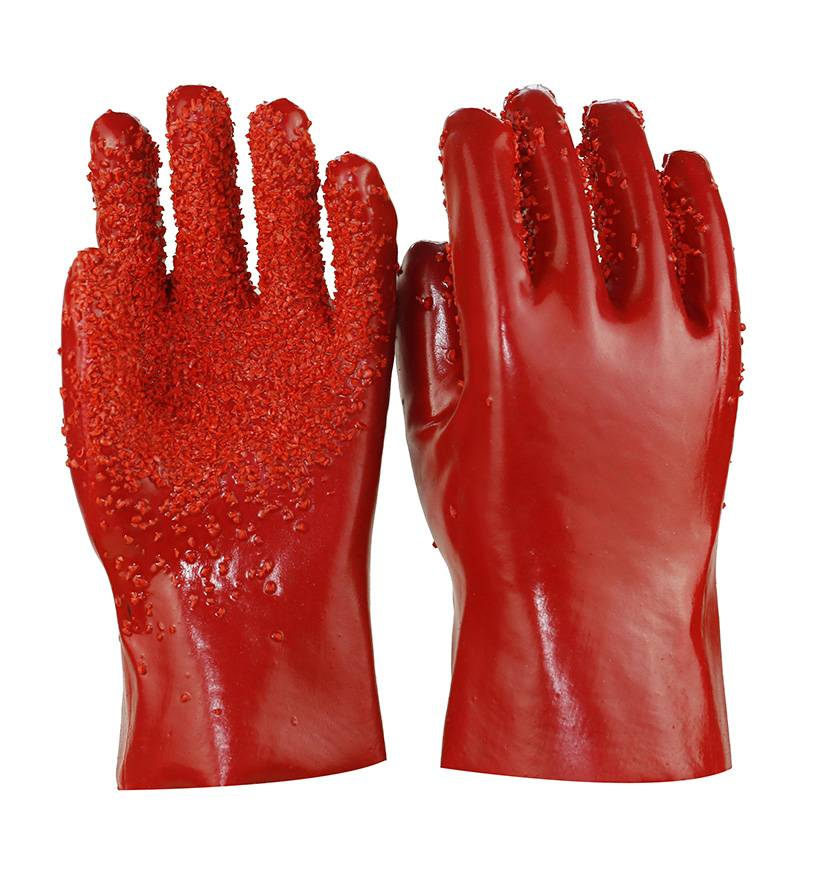 new design  pvc safety gloves