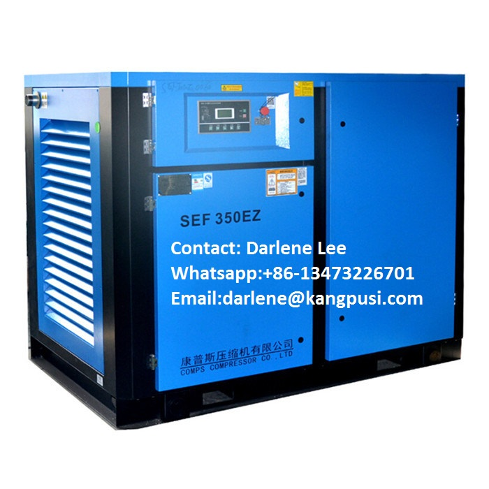 Air Colling Low Price Power Frequency Electric Air Compressor