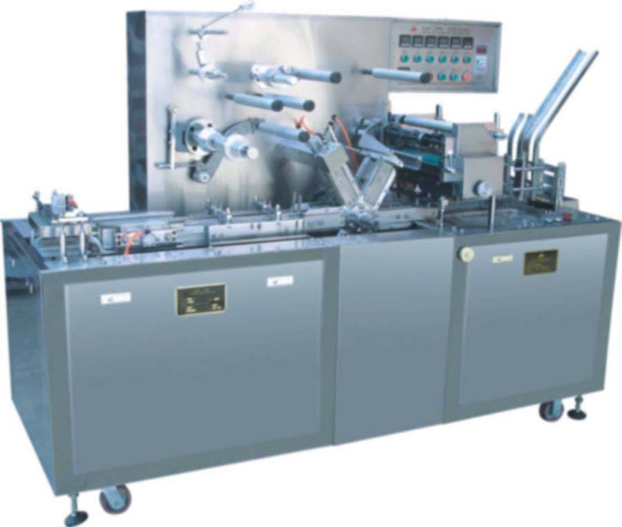 T300  Type  Adjustable Cellophane Overwrapping  Machine
