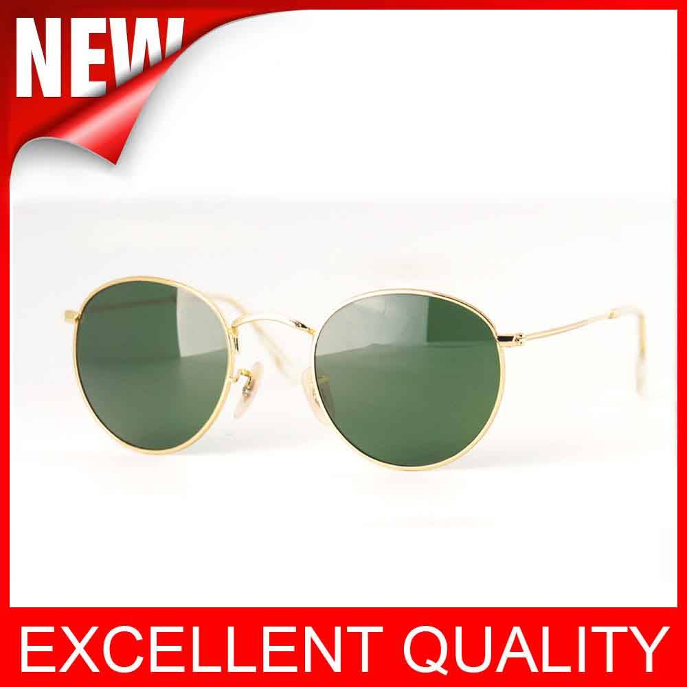 Wholesale AAAAA quality Round frame 3447 fashion Sunglasses glasses cheap price