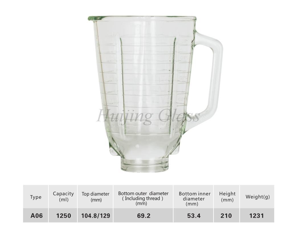 4655 classic blender replacemenr glass jar / vasos de vidrio