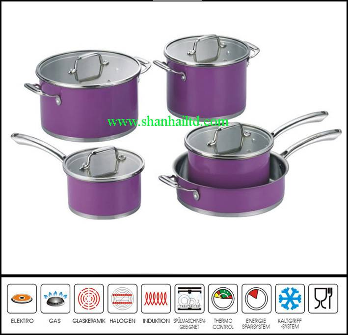 Hot selling 9 Pcs new kitchen ware product Sc871