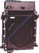 Radiator Assembly For Low Horese Power Engine