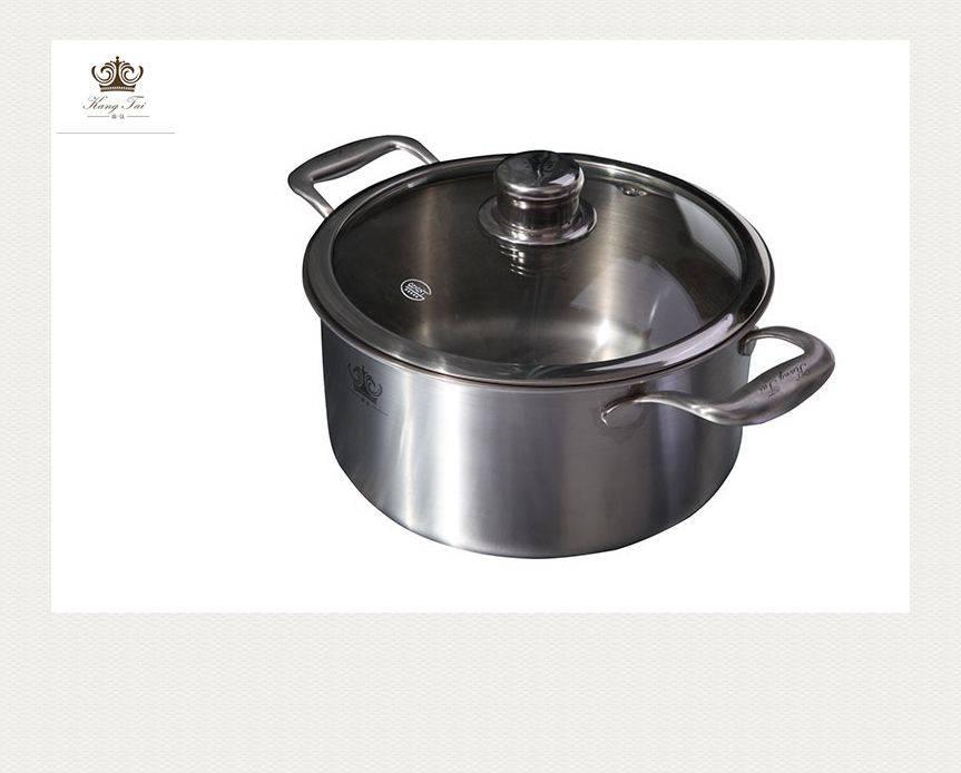 Titanium soup pot size in 24-26cm
