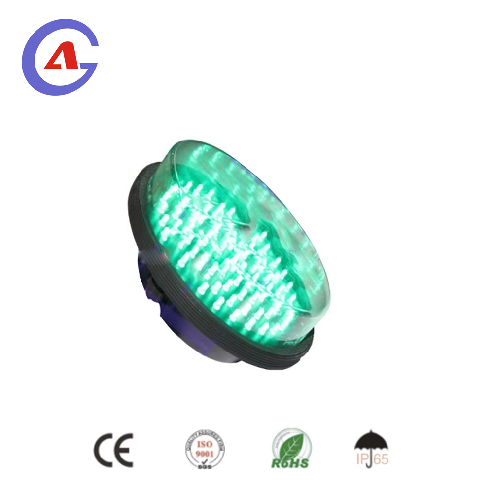Cluster Green LED Light module used for 200mm 8 inch vehicle traffic signal light