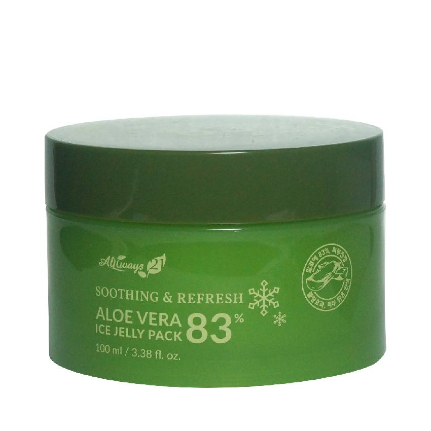 Always21 Soothing & Refresh Aloe Vera 83% Ice Jelly Pack