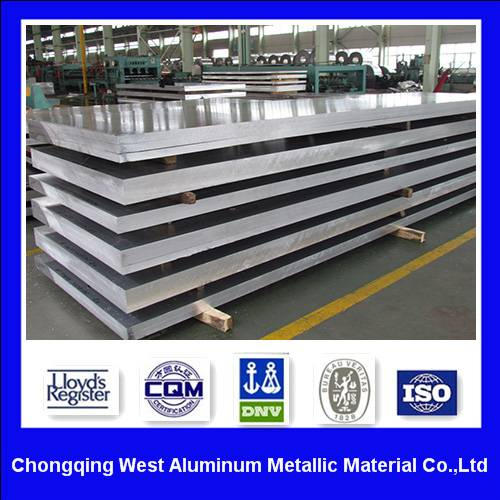 Alloy 2024 plate and sheet aluminum aircraft quality