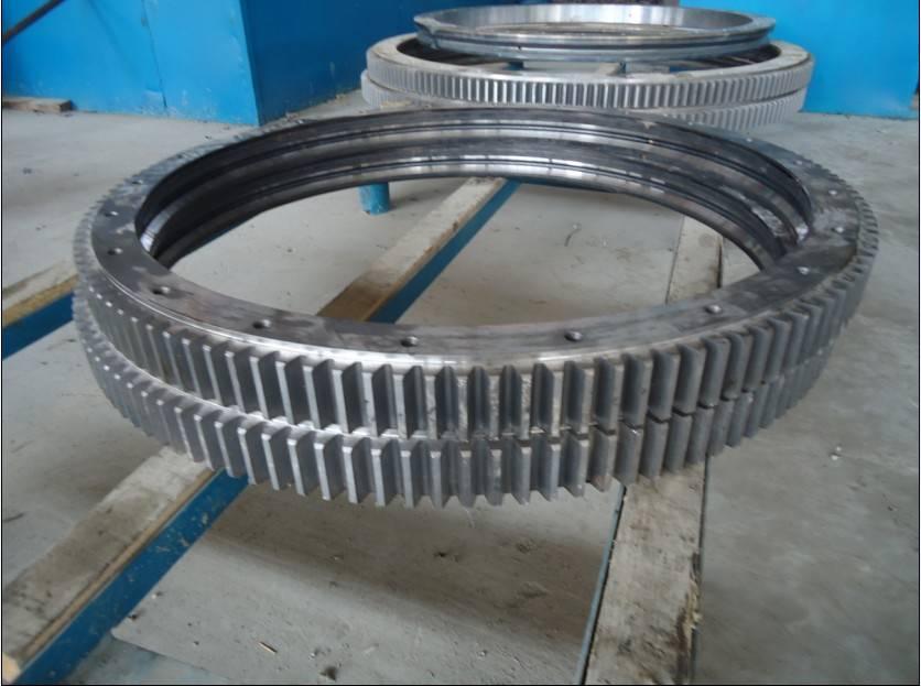 External Gear Double row ball for Heavy Duty Cranes Machinery