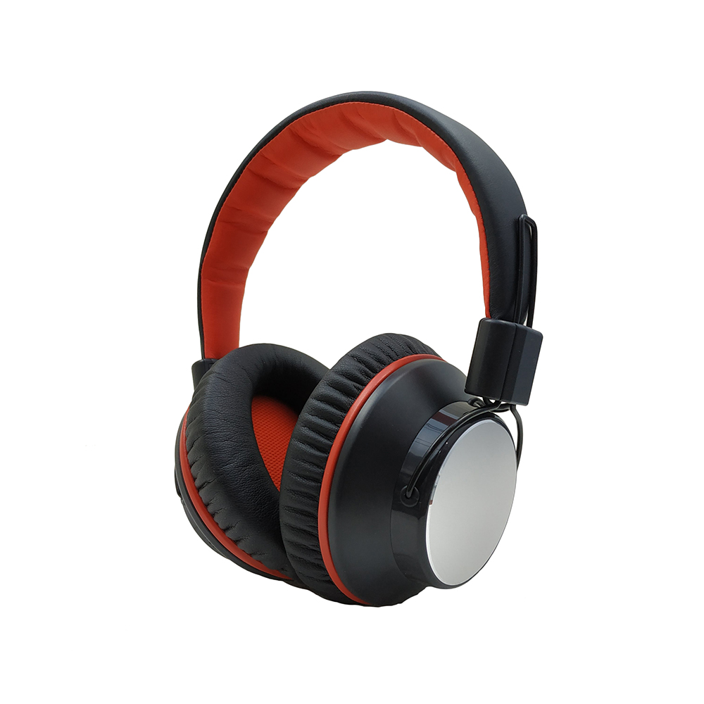 High Quality Active Noise Cancelling Protein Earcups Over Ear bluetooth headset