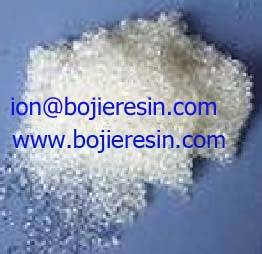 High purity anion resin with FDA certificate
