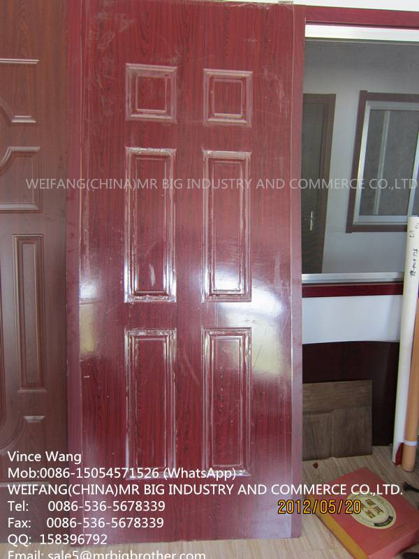 Melamine Door Skin with Mould