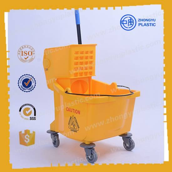 ZY-402 36L Mop Bucket Trolley, Mop wringer bucket