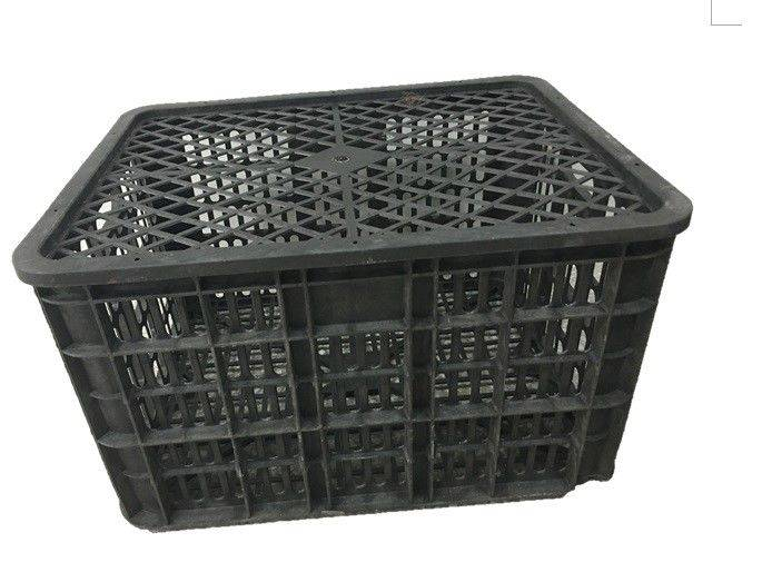 Plastic Basket with lid/ injection mould / plastic parts