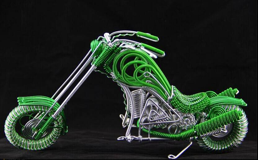 wire harley motorcycle model