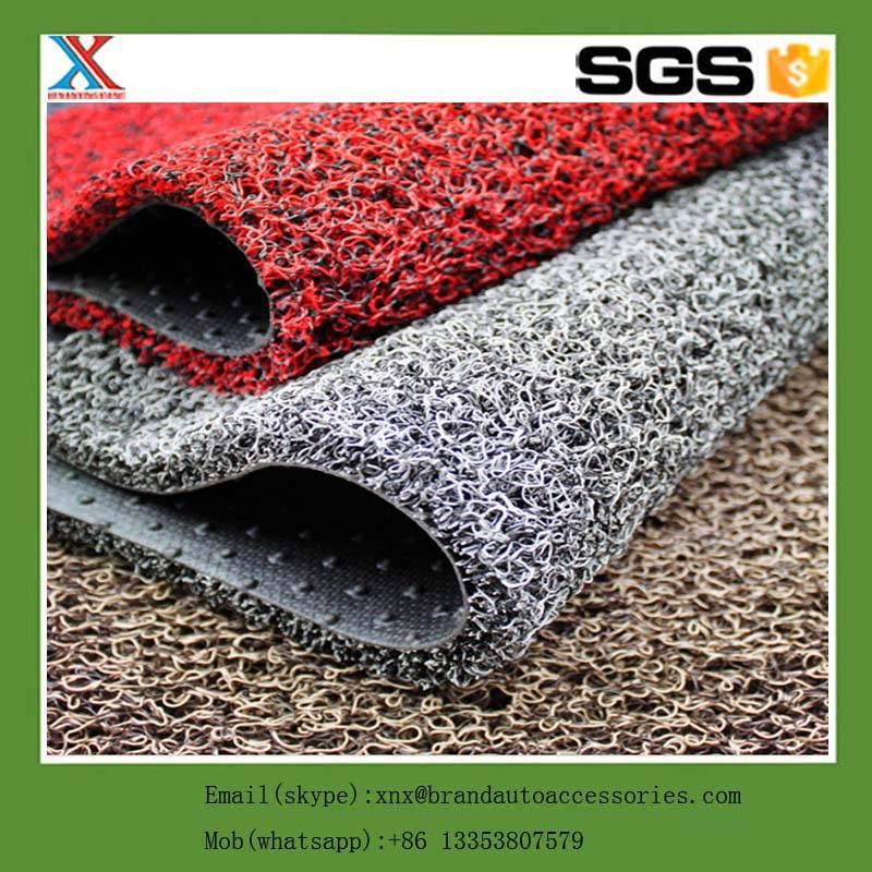 China supplier car accessories dubai floor mat south korea pvc coil mat