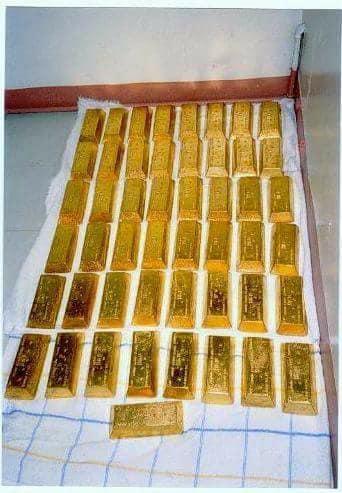AU GOLD BARS, ROUGH UNCUT DIAMOND AND GEM STONES