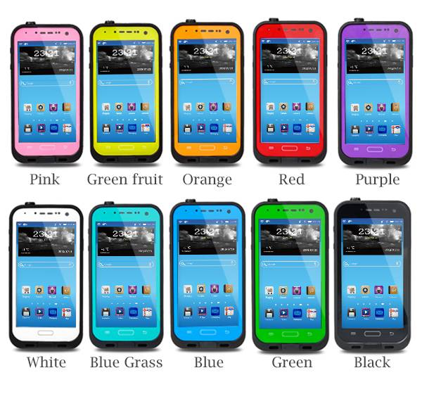 Wholesale Mobile Phone Waterproof Case for Samsung Galaxy S4