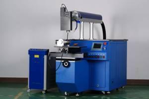 Four-dimensional automatic laser welding machine