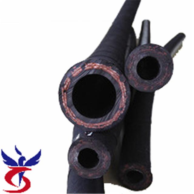 SAE J517 100 R3 Two Layers Fiber Braid Hydraulic Hose