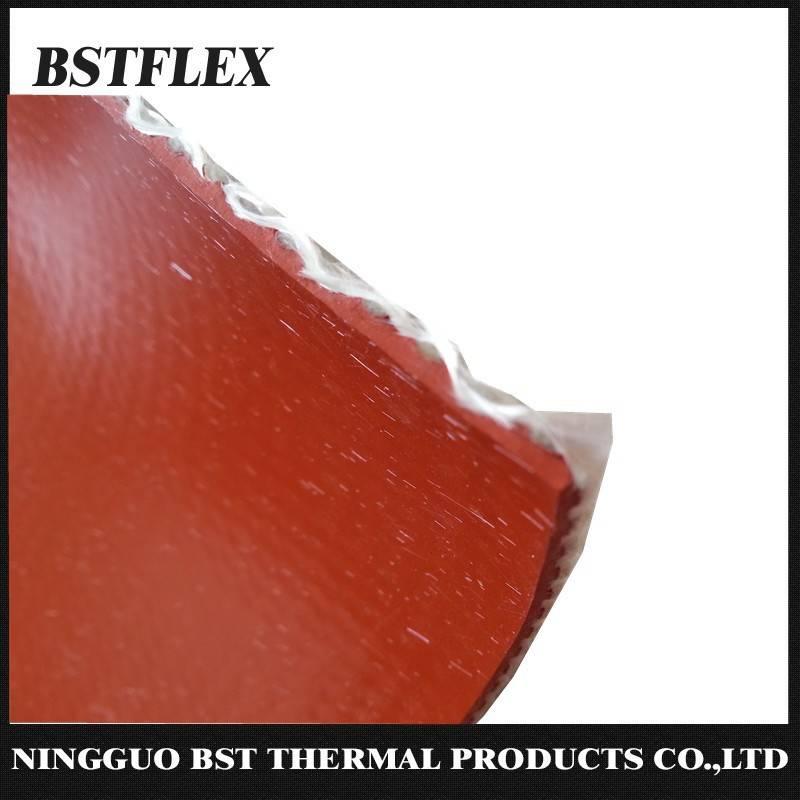 96 oz 3 mm heavy duty silicone coated fiberglass high temperature fabric