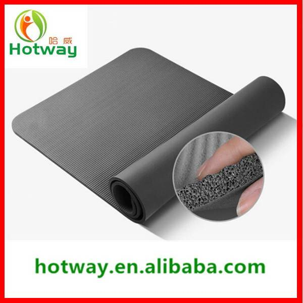 2015 Gold Supplier for Cheap Yoga Mat TPE Material Non-Toxic Floor Mats Both for Gym and Home Use