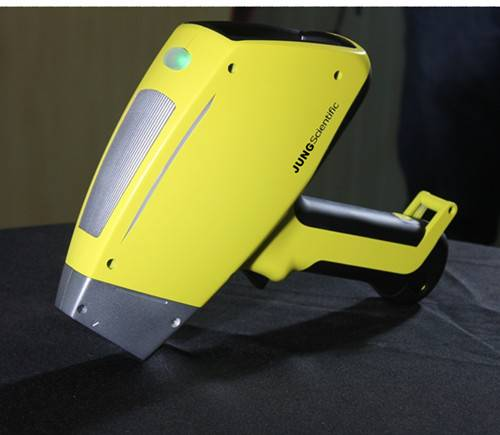 Handheld XRF analyzer for ROHS