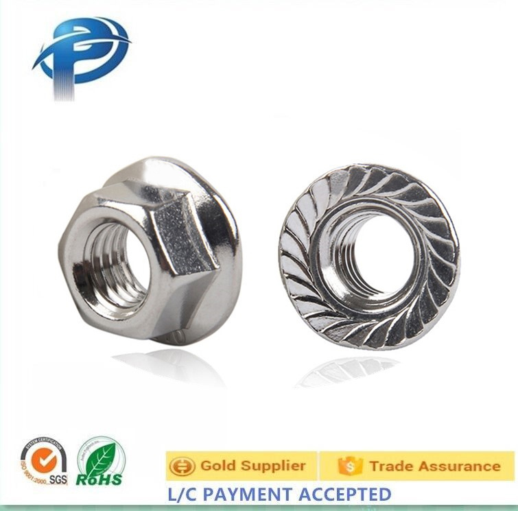 304 Stainless steel hex nut/Flange nut/hex nut M4-M20