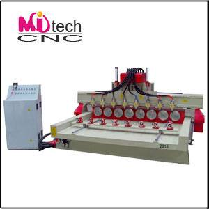 CNC Router Machine with 4 Axis Funtion (mitech2015)