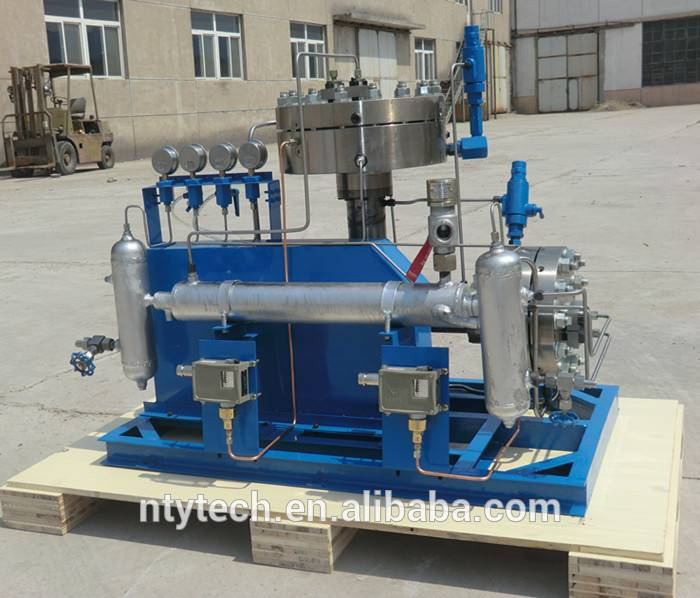 High Pressure Nitrogen/Hydrogen N2/H2 Gas Diaphragm Compressor