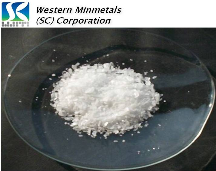 High Purity Boric Acid at Western Minmetals H3BO3 99.99%