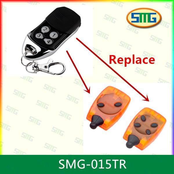 SMG-015TR Telecomando Radio comando compatibile Aprimatic TR2 433 Mhz rolling code