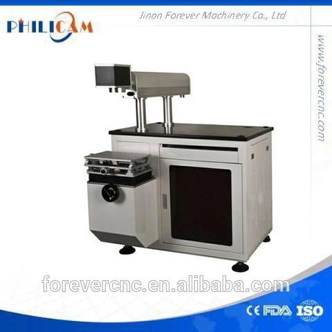 Lether CO2 Save Money Laser Marking Machine with glass tube 300*300mm