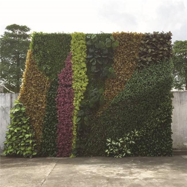 Vertical Garden Artificial Green Wall for Indoor Outdoor Decoration