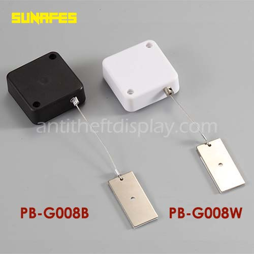 Watch / Jewelry Retractable Anti-Theft Pull Box / Steel Cable Reel For Security Display