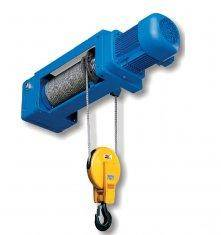 Pneumatical Foot Mounted Wire Rope Hoist WHF-B(2/1 Rope Reeving)
