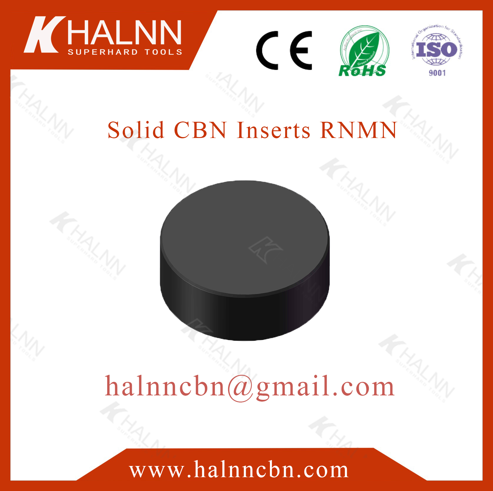 Turning cast iron rolls with Halnn BN-K1 CBN inserts