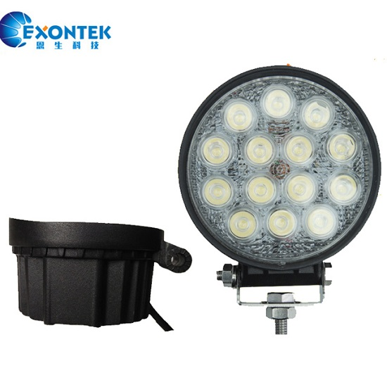 Led work lamp headlight 42W 4WD Boat LED headlamp for JEEP SUV UTV Tractor agricultural machinery